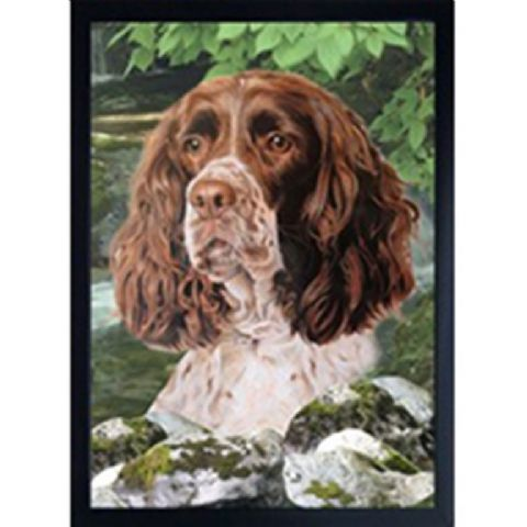 SPRINGER SPANIEL 3D FRIDGE MAGNET